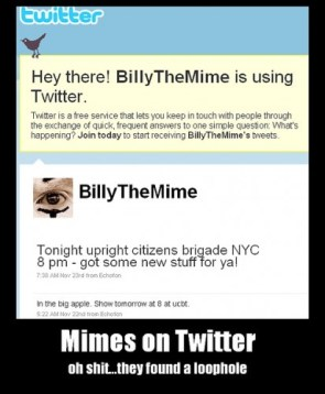 mimes on twitter