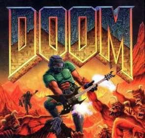 Doom marine with guitar