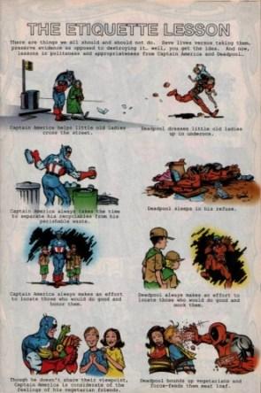 Captain America and Deadpool
