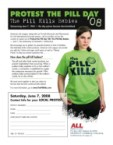 The Pill kills babies!!
