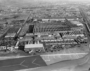Lockheed Plant during World War II