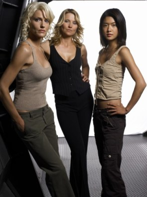 Sci-Fi Girls: Tricia Helfer, Lucy Lawless, Grace Park
