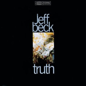 "Jeff Beck`s ""Truth"" album cover Epic Records 1968"