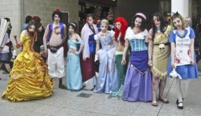 Zombie Disney characters