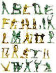 Army Men Alphabet