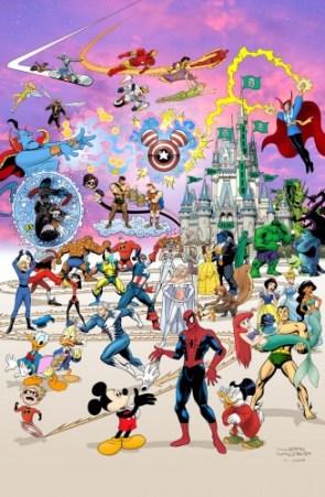Marvel/Disney Mashup
