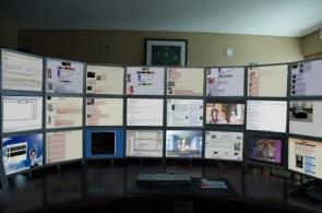Too Many Monitors?