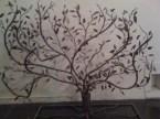 Large Paintings & a Metal Tree