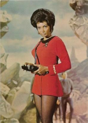 Lieutenant Nyota Uhura Nude