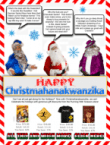 Happy Christmahanakwanzika from Postal