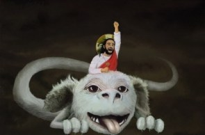Jesus and Falkor