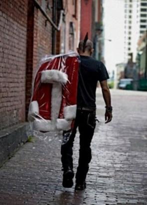 Punker Santa
