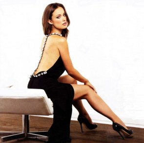 olivia wilde – diamond black dress