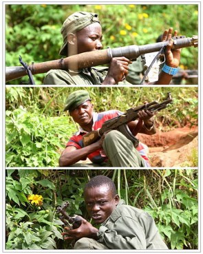 Congo Soldiers: Rambo Style!