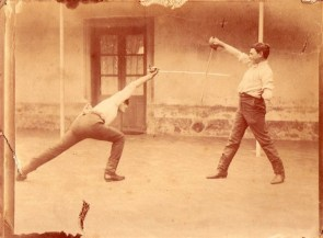 Saber Fencers; Argentina, C. 1900