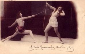 Foil Fencing; France, C. 1905