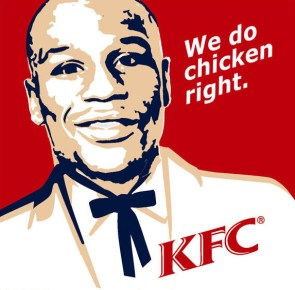 KFC we do chicken right