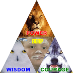 Power… wisdom… courage… DERP!