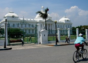 Haitian Presidential Palace Before/After Earthquake