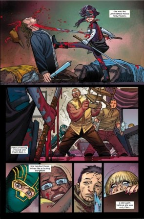 Kick Ass Comic: Hit Girl