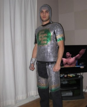Beercan Chainmail