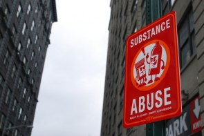 Substance abuse makes it all go away