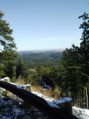 Snowy Lookout
