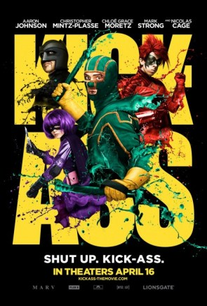 Kick Ass Theatrical Poster