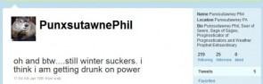 Punxsutawney Phil – 2010