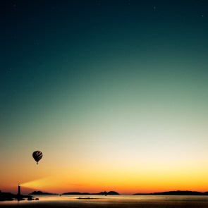 Lighthouse and Balloon