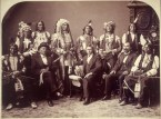 Oglala Lakota Delegation 1880