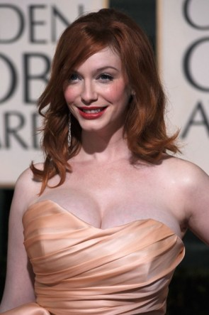 Christina Hendricks – golden globes