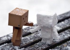 Boxman Snowman