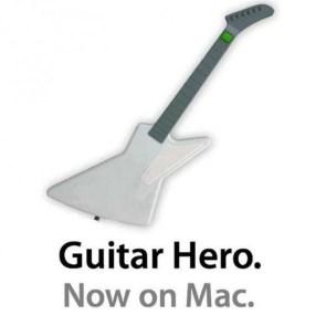 Guitar Hero; Now on Mac
