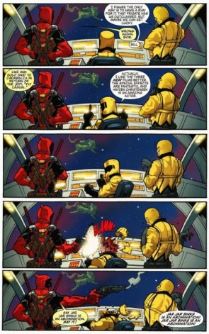 Deadpool on Star Wars