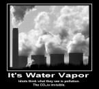 It's Water Vapor