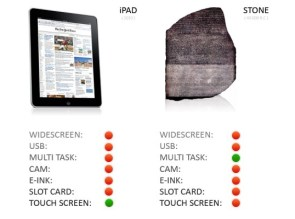 iPad vs Stone
