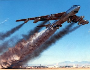 Boeing B47 rocket assisted take-off