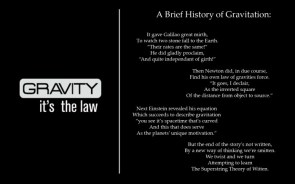 A brief history of gravitation