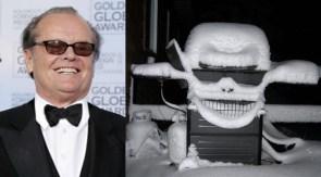 Jack Nicholson is a grill.