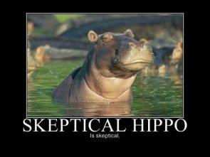 Skeptical Hippo