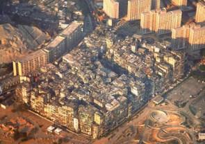 Kowloon Walled City.