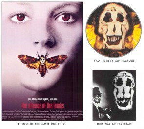 Hidden Art in the Silence of the Lambs Poster