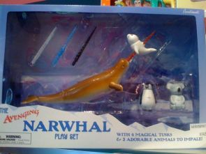 Narwhal Play Set