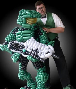 Master Chief Balloon Style