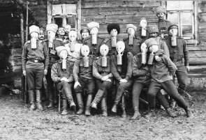 In Soviet Russia masks gas you