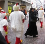 Fasching in Switzerland