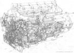 Ferrari f-1 engine