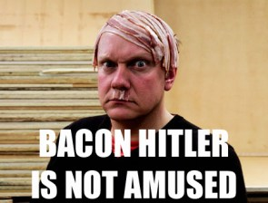 Bacon Hitler