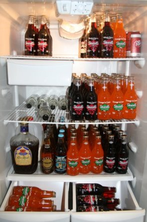 Fridge Full of Soda